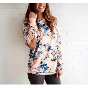 Sweaters - Floral sweater/sweatshirt,